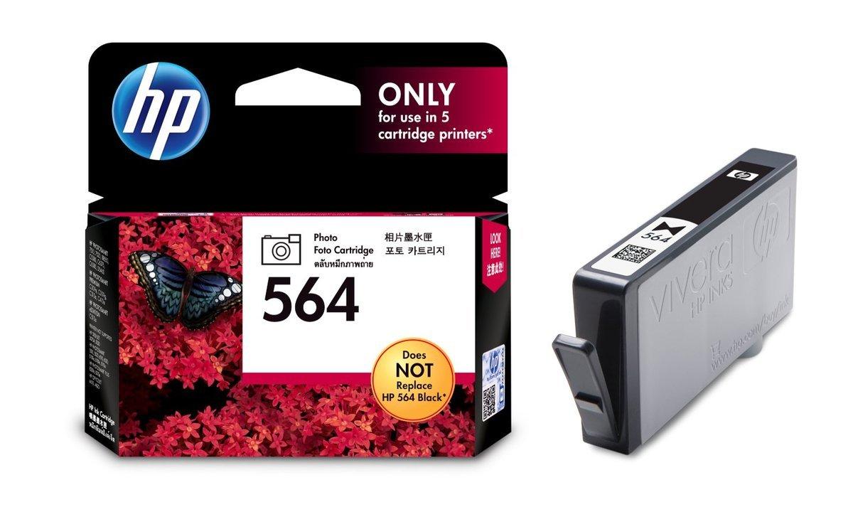 HP 564 相片黑色油墨盒(標準裝 CB317WA)