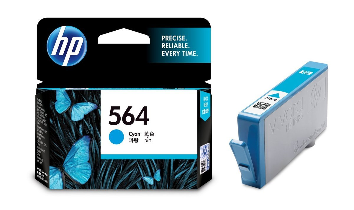 HP 564 藍色油墨盒(標準裝 CB318WA)