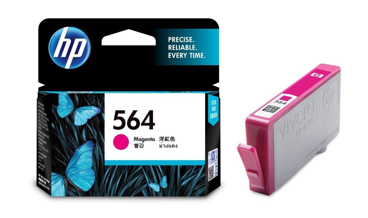 HP 564 洋紅色油墨盒(標準裝 CB319WA)
