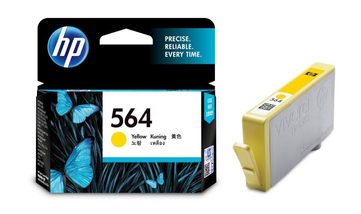 HP 564 黃色油墨盒(標準裝 CB320WA)