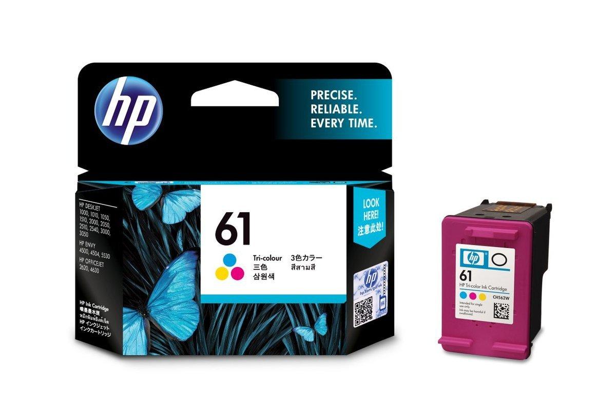 HP 61 三色油墨盒(標準裝 CH562WA)