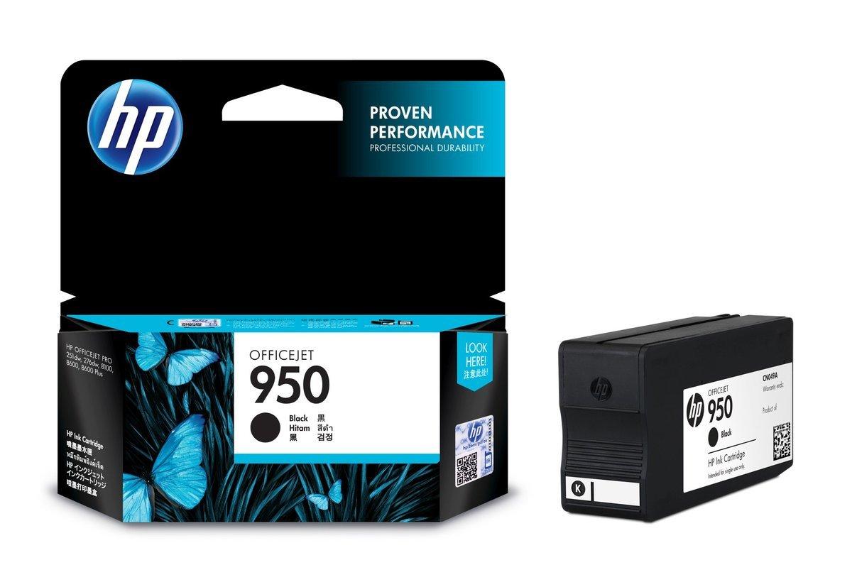 HP 950 黑色油墨盒(標準裝 CN049AA)