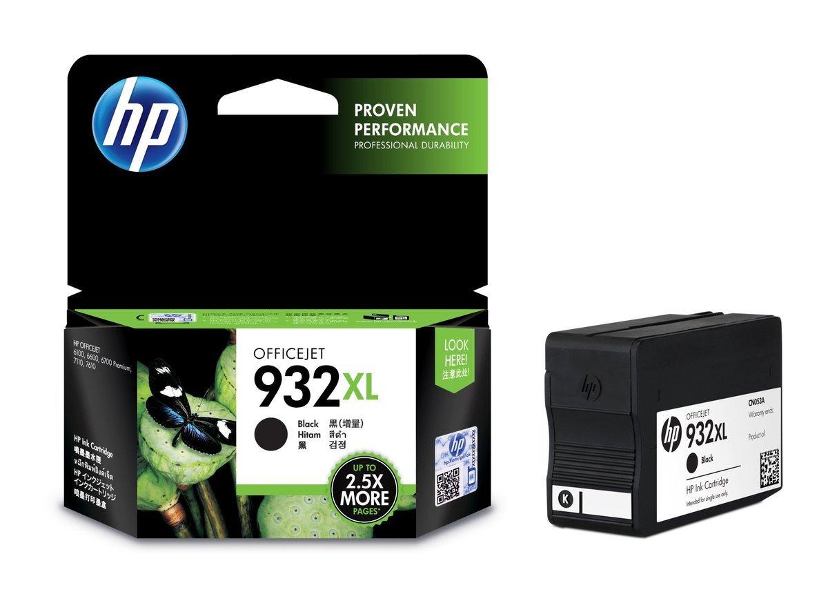 HP 932XL 黑色油墨盒(加大裝 CN053AA)