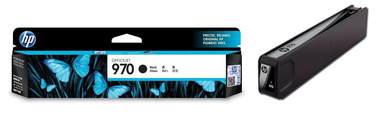 HP 970 黑色油墨盒(標準裝 CN621AA)