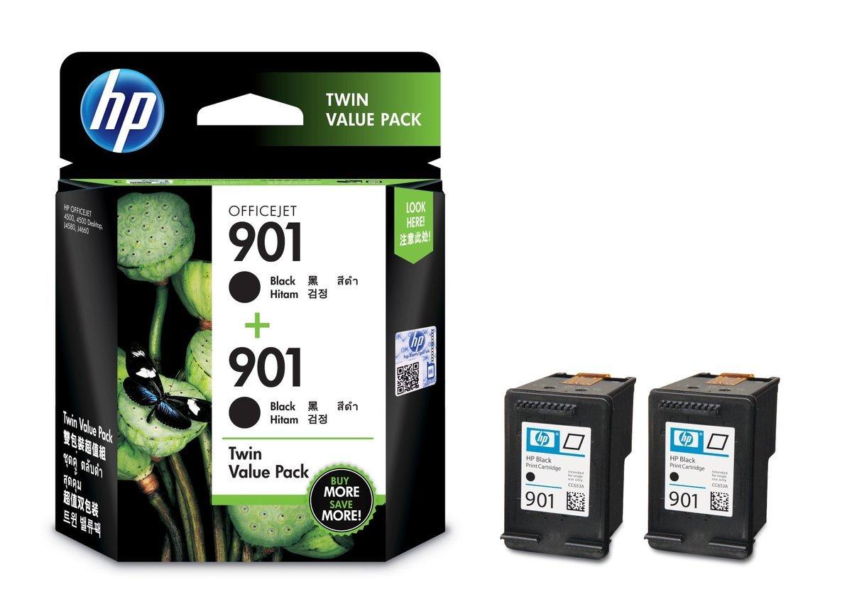 HP 901 黑色油墨盒(標準裝 E5Y52AA)