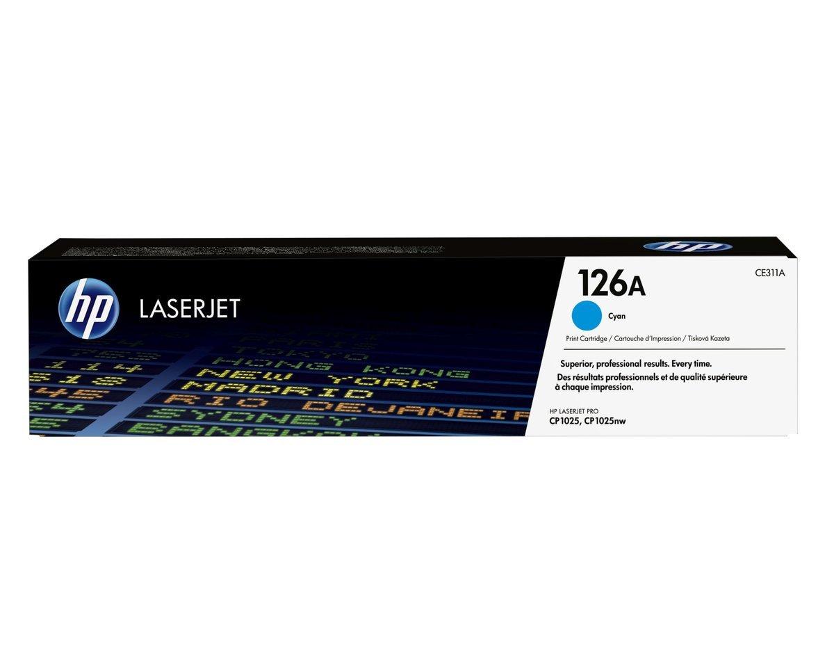 HP CLJ CP1025 藍色碳粉盒 (標準裝 CE311A)