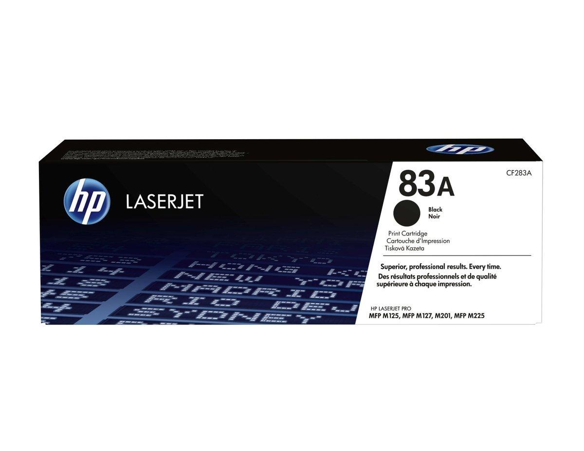HP LaserJet 83A 黑色碳粉盒 (標準裝 CF283A)