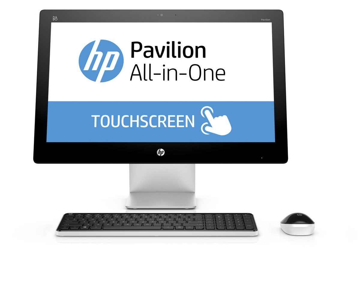HP Pavilion 23-q085hk 一體式電腦+耳機+無線藍芽揚聲器套裝
