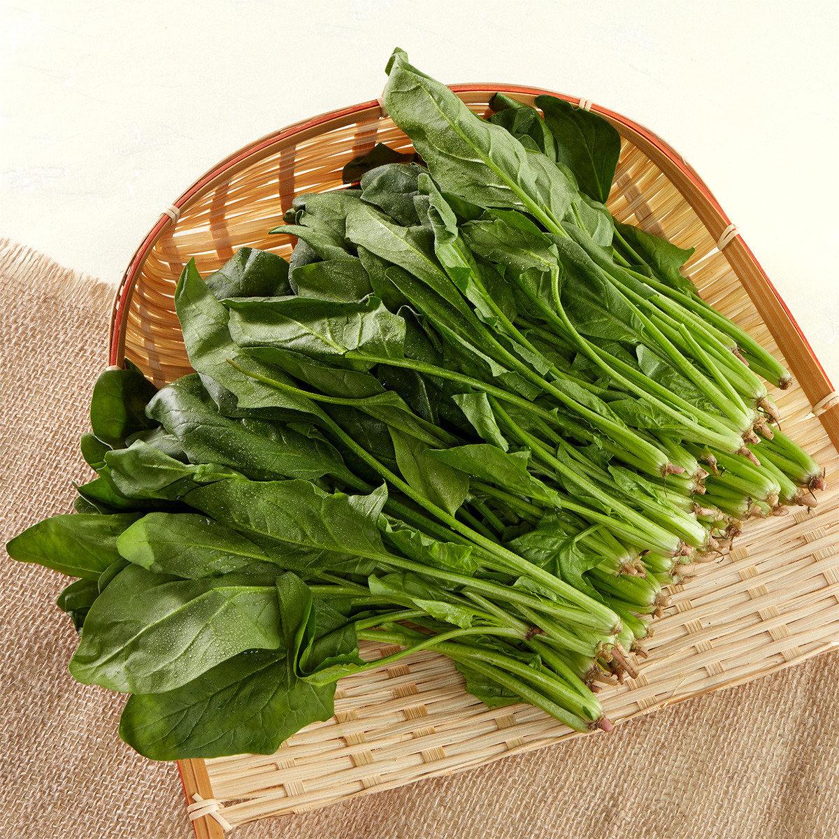 有機菠菜苗 (約200-300克)