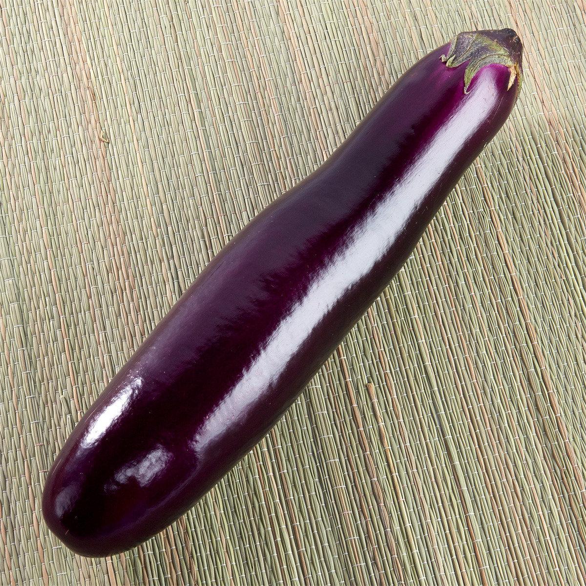 有機茄子(茄瓜) (約300-400克)
