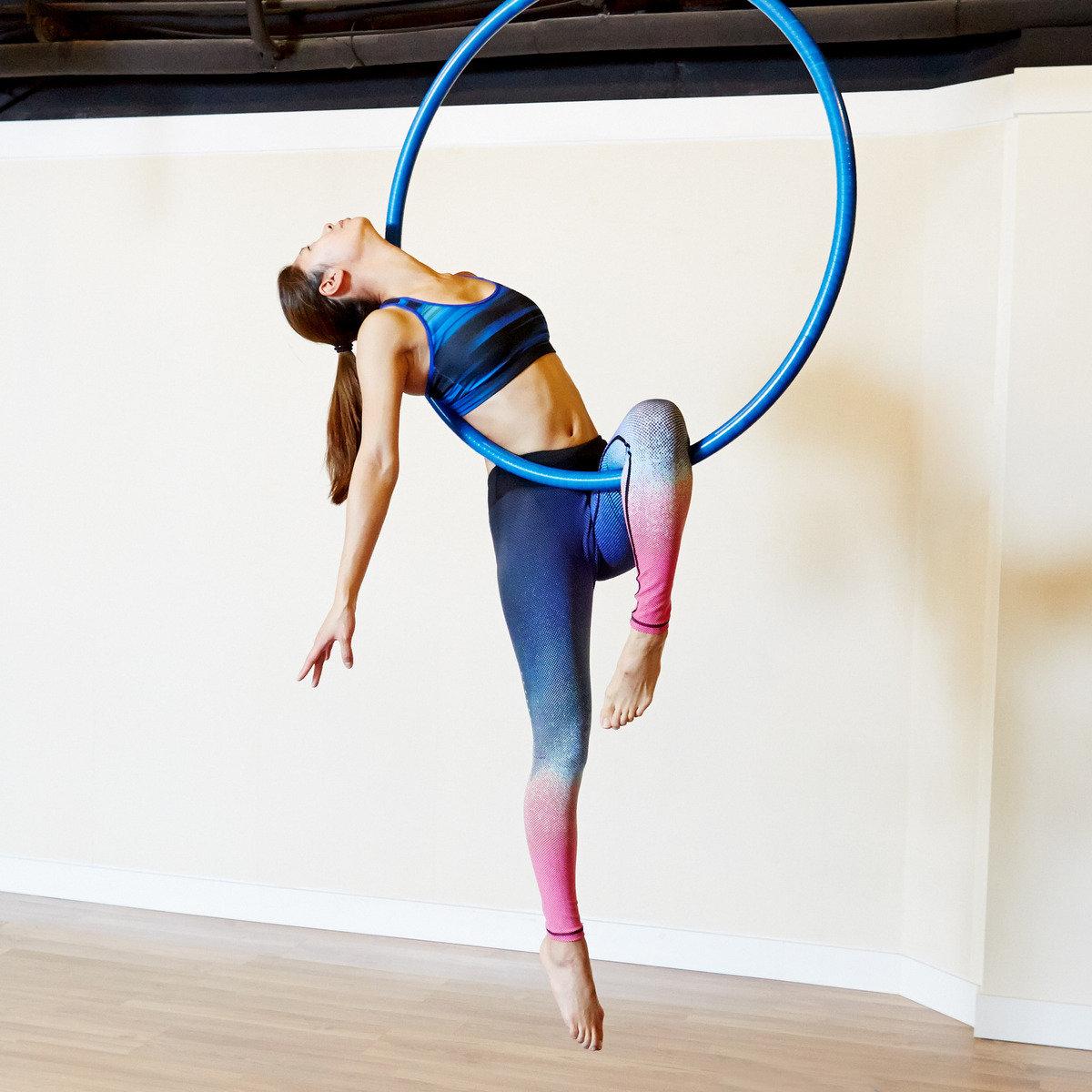 (1人) 4 堂 自選空中瑜珈 / 空中呼拉圈 / 空中絲帶舞課程