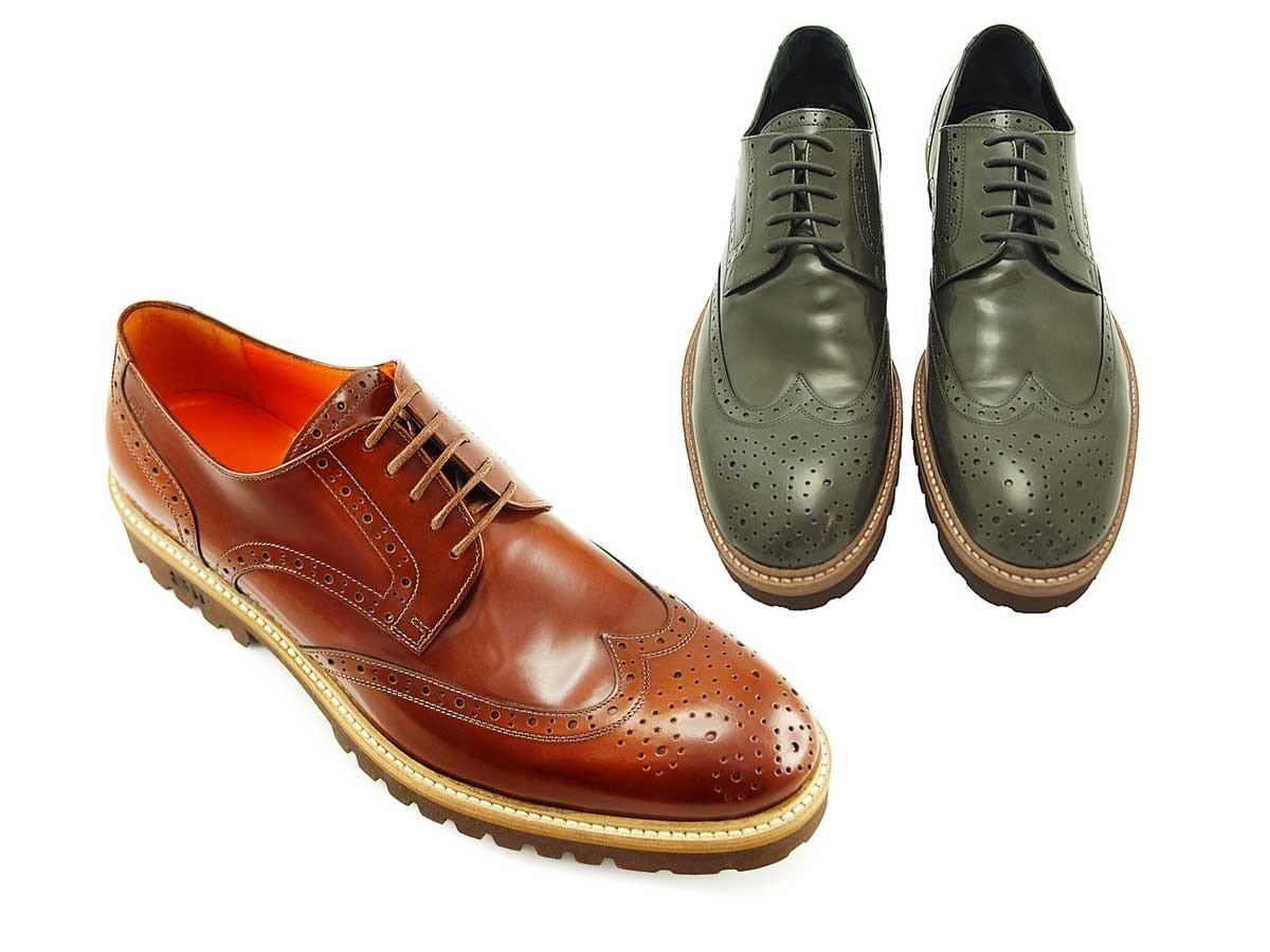 $3,098 訂造意大利男裝皮鞋兩對