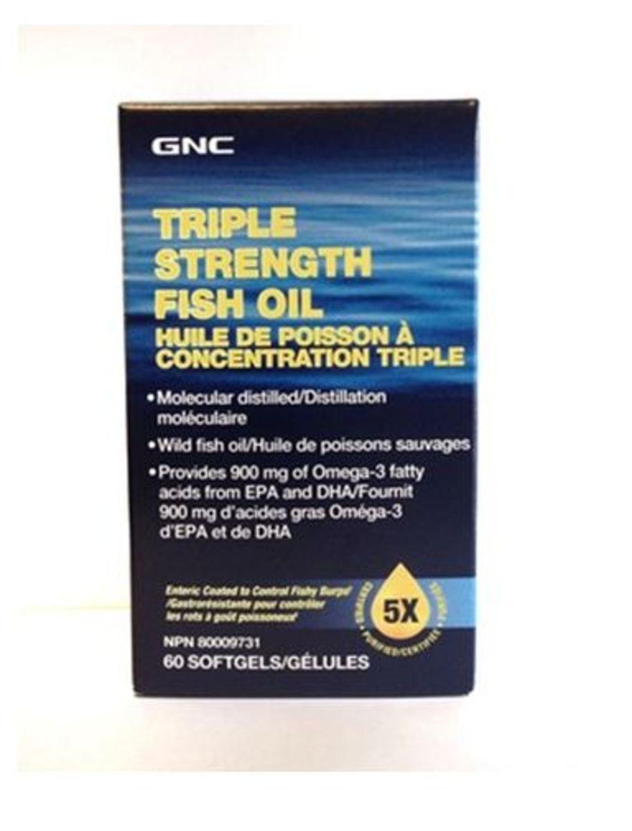 三倍強效深海魚油(全新配方) 60膠囊