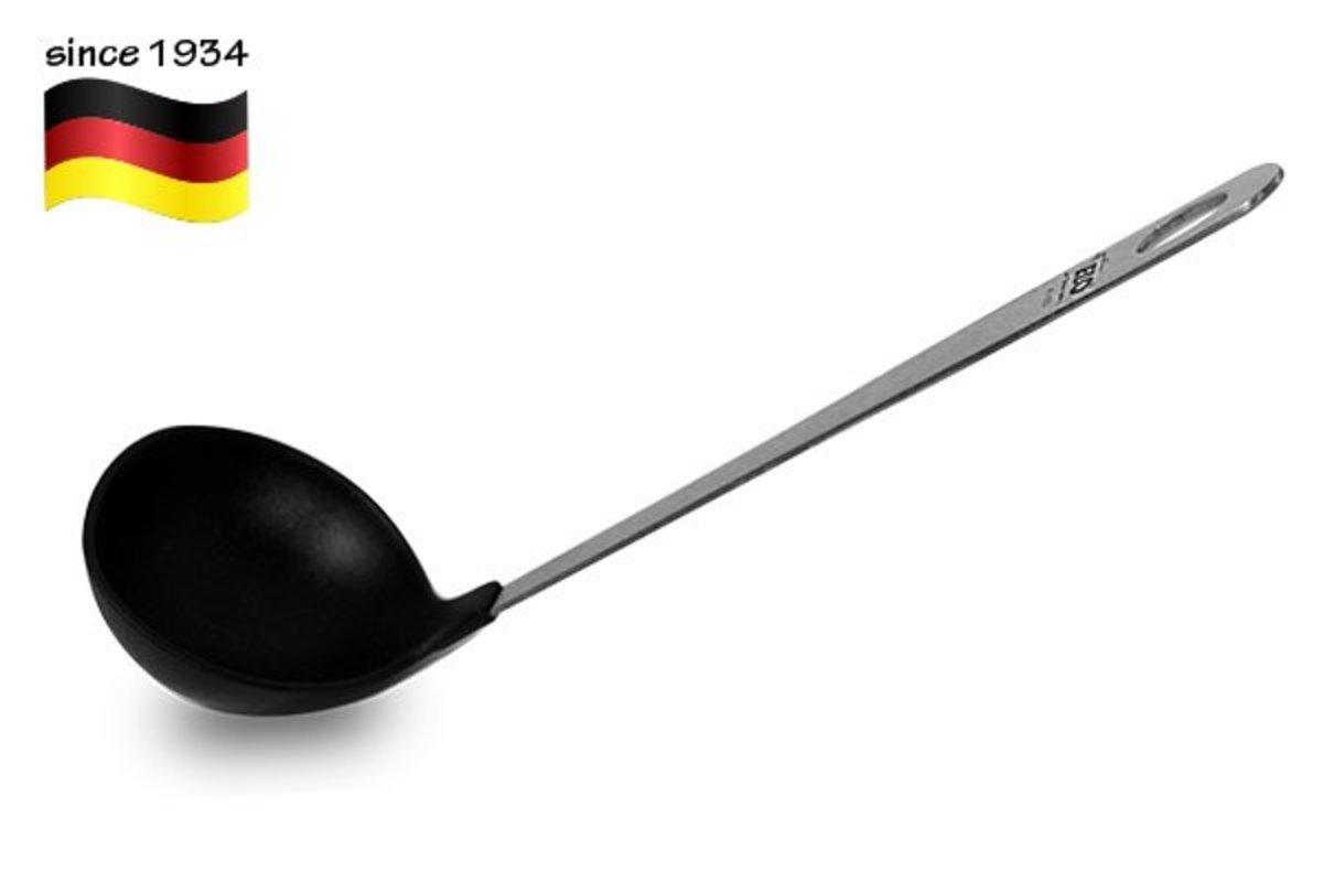 德國 不鏽鋼手柄湯瓢