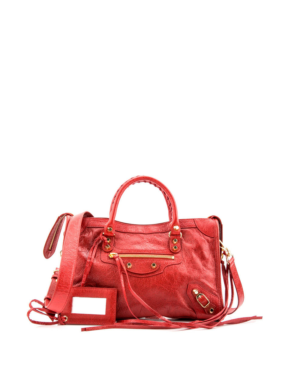 Classic City Small Tote - Red - BCHB17SH00057