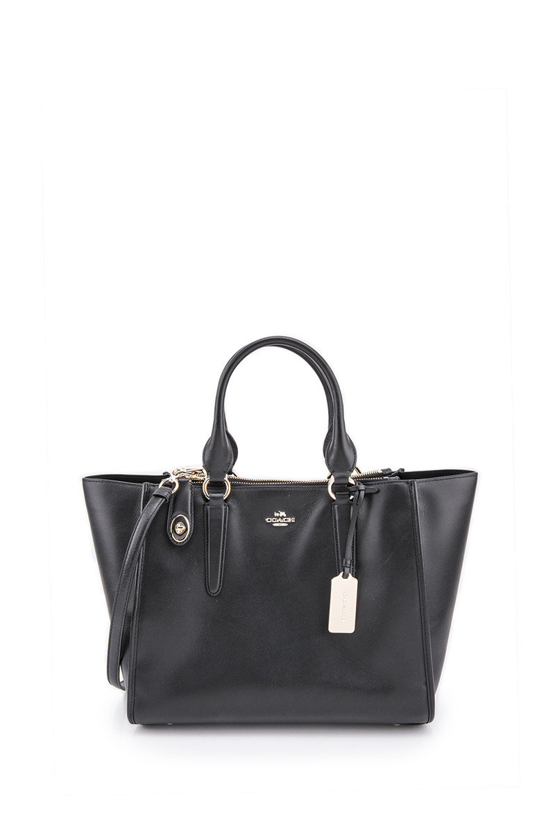 Crosby Carryall In Leather - Black - COHB16WH00114