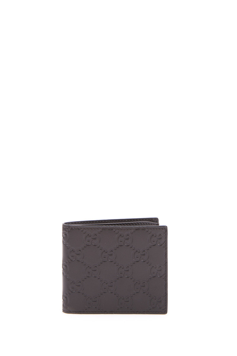 Signature Bi - Fold Wallet - Brown - GCWT16WH00091