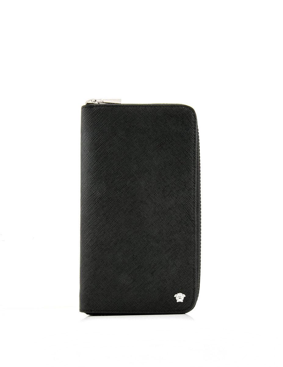 Medusa Zip Around Wallet - Black - VSHB17SH00051