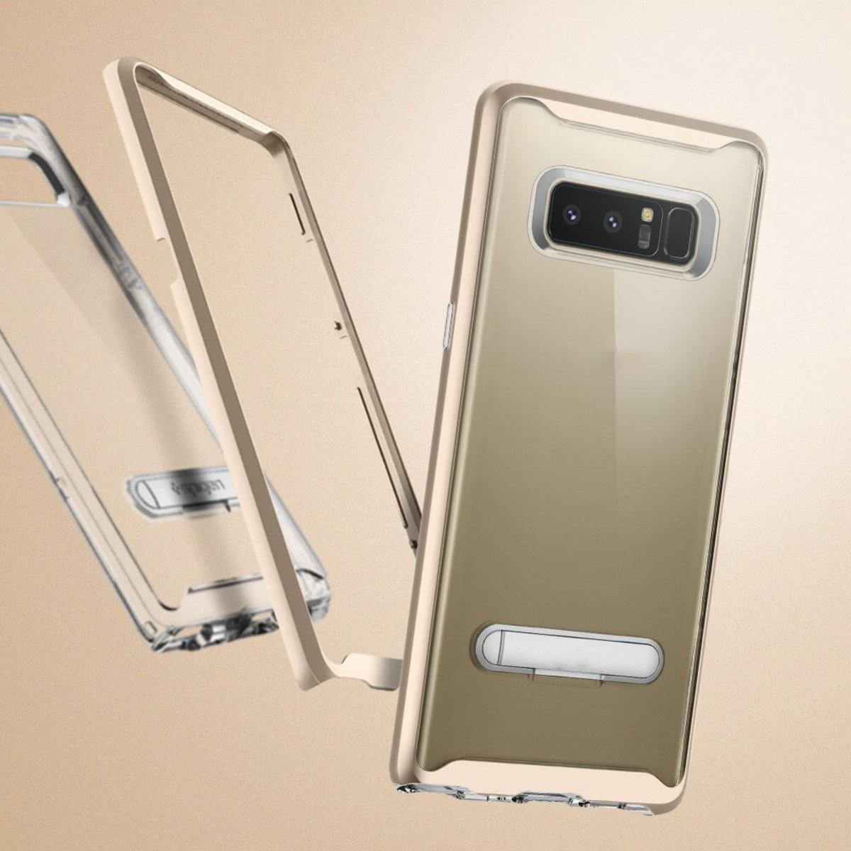 Galaxy Note 8 Case Crystal Hybrid Hd Wallpaper Spigen Original Casing Black Hktvmall Ping
