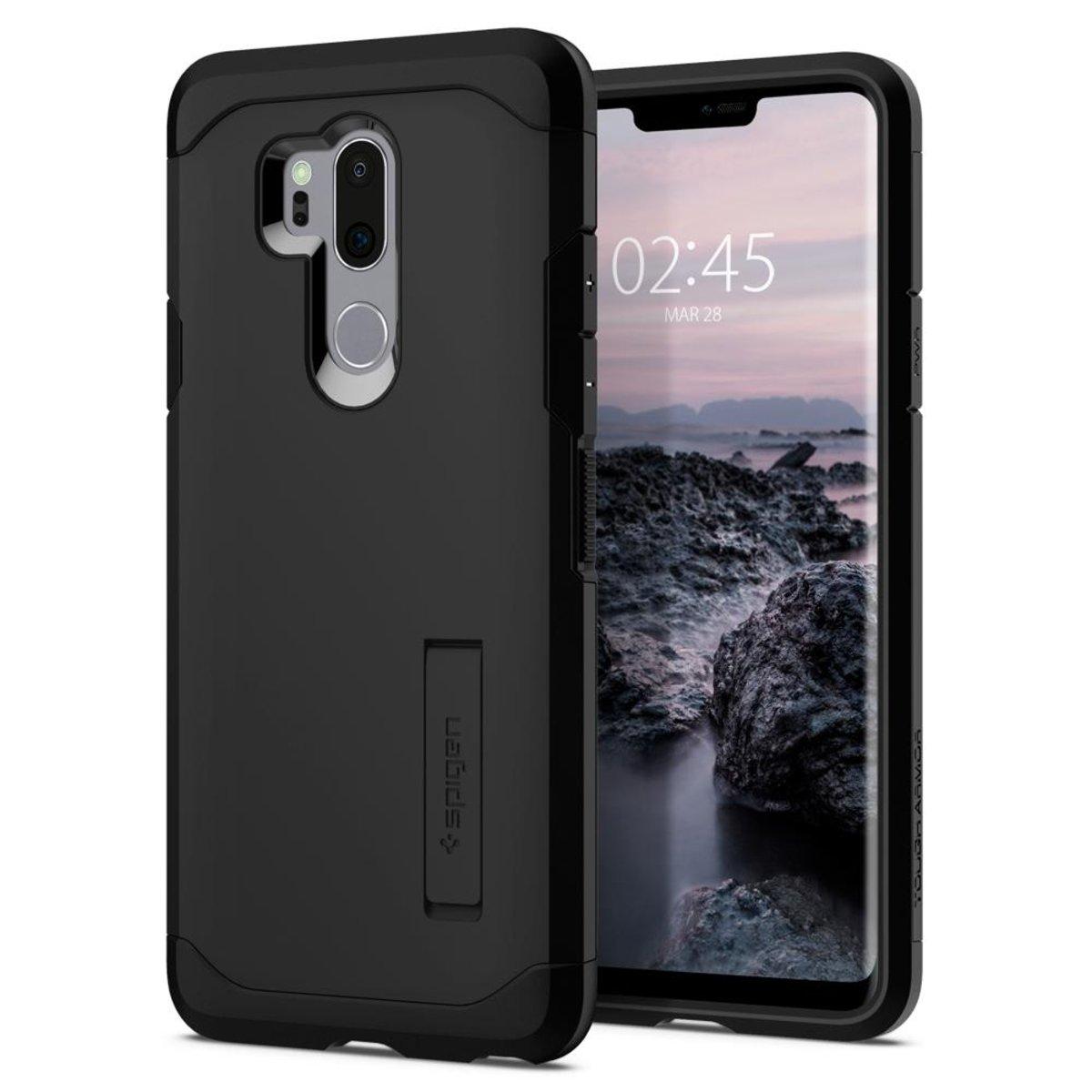 premium selection 05a48 b4a47 Spigen | LG G7 ThinQ Case Tough Armor | Color : Black | HKTVmall ...