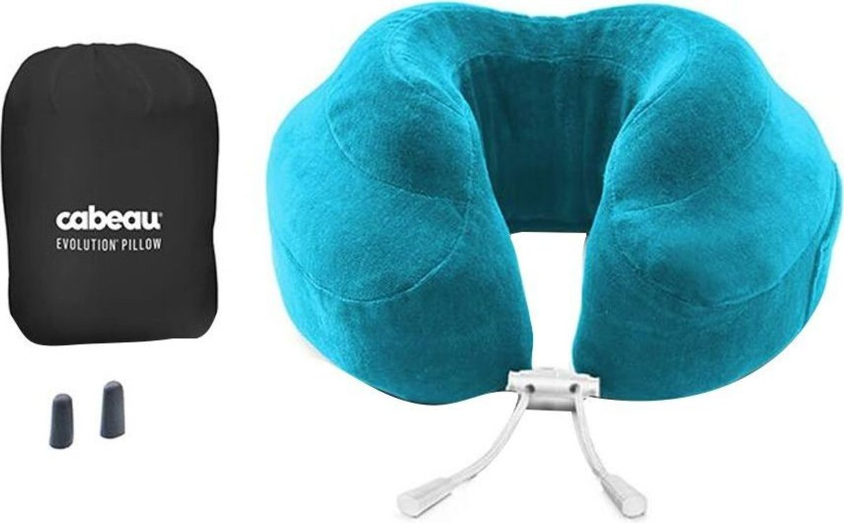 evolution pillow ocean blue - Cabeau Evolution Pillow