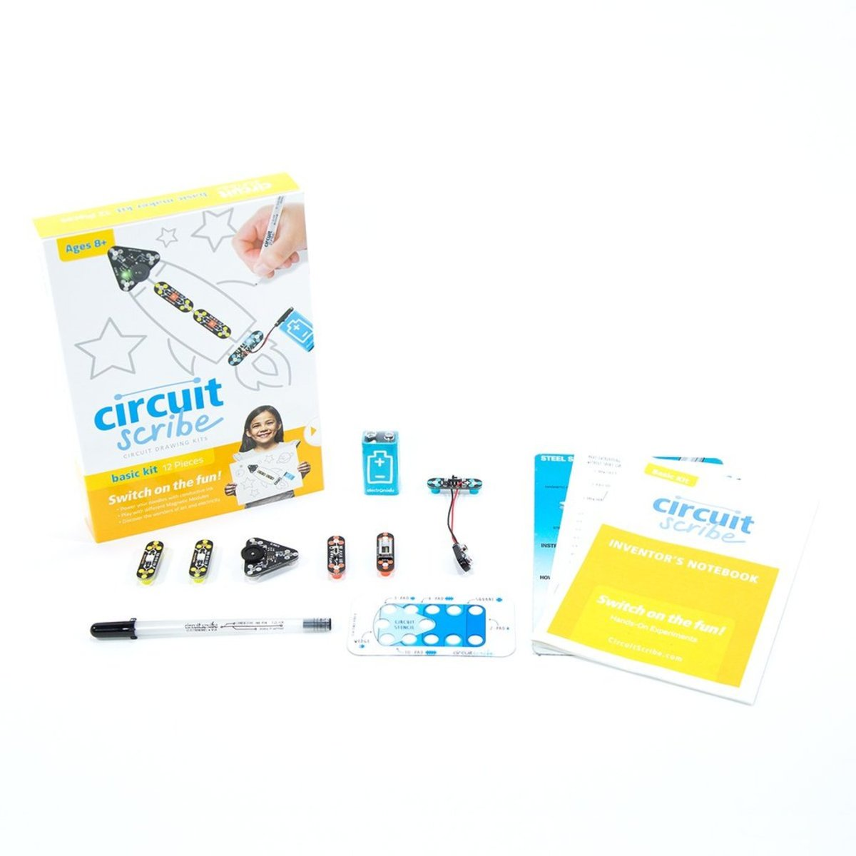 Circuit Scribe | Electronics Draw Circuits Learning System BASIC KIT ...