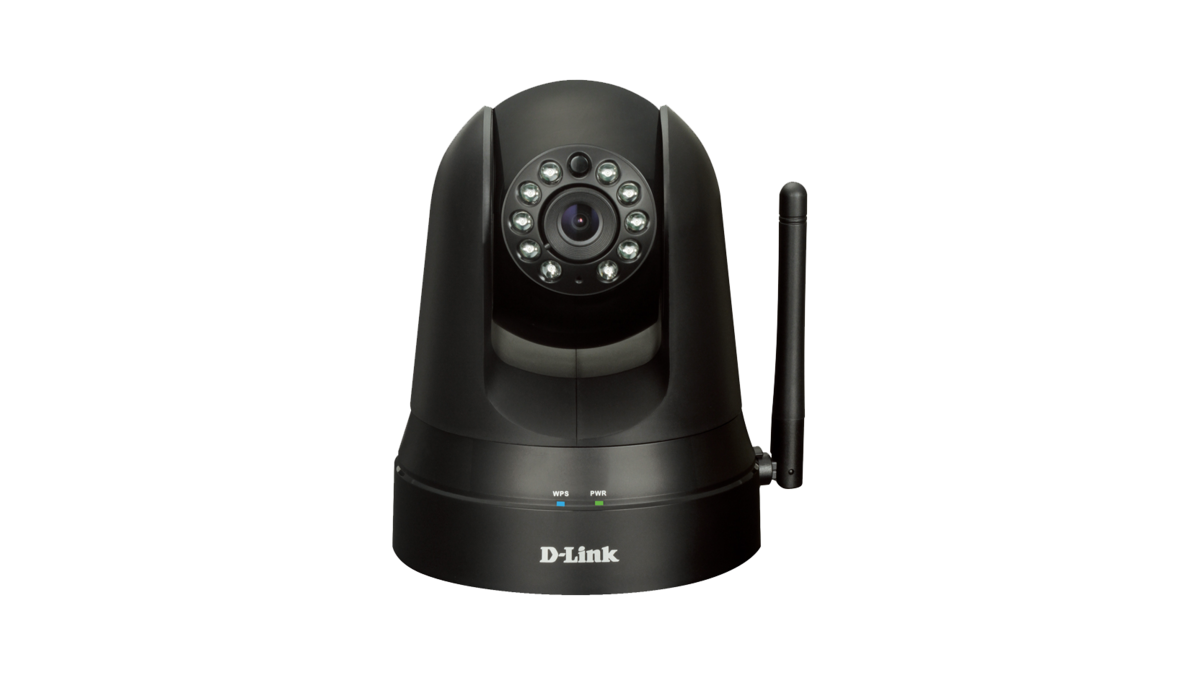 無線晝夜平移/傾斜云IP攝像機 黑色 Wireless N H.264 Day&Night Pan/Tilt Cloud Camera without Sound (Black) DCS-5010L