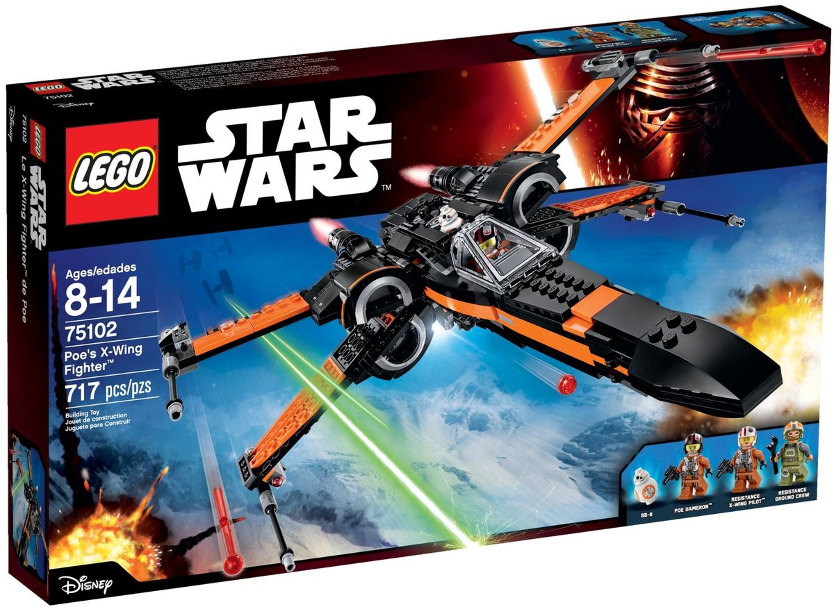 75102 Star Wars - Poes X-Wing Fighter