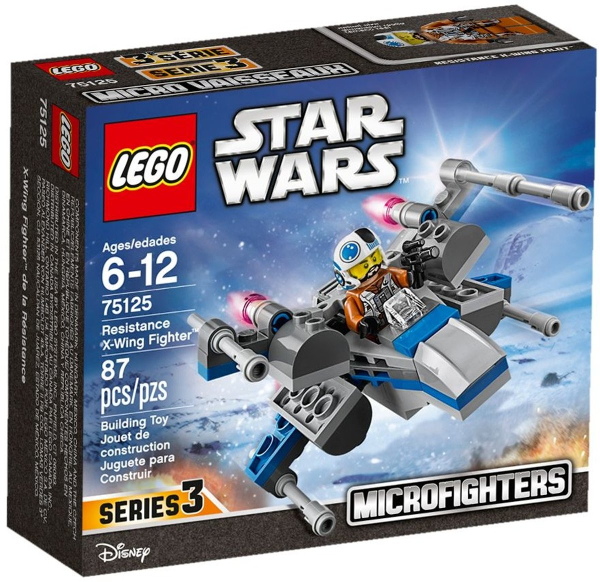 75125 Star Wars - Resistance X-Wing Fighter