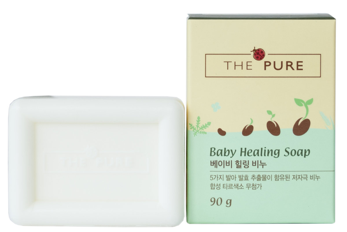 Korea The Pure Baby Healing Soap 2pcs Hktvmall Online Shopping
