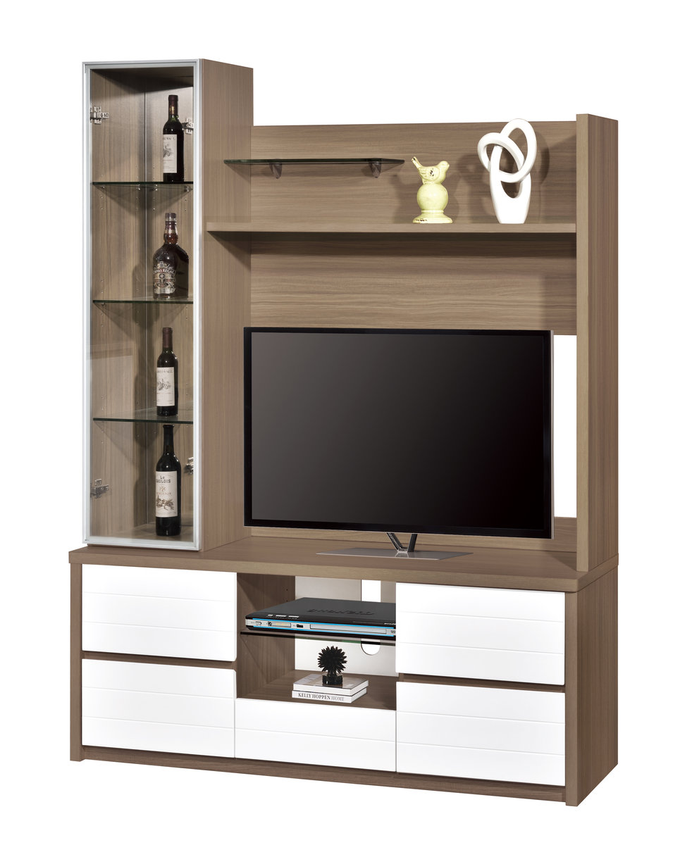 Exceptional ALPHA FURNITURE | 128 205+210 TV Wall Unit (Mirror Back Of Display Cabinet)  | HKTVmall Online Shopping