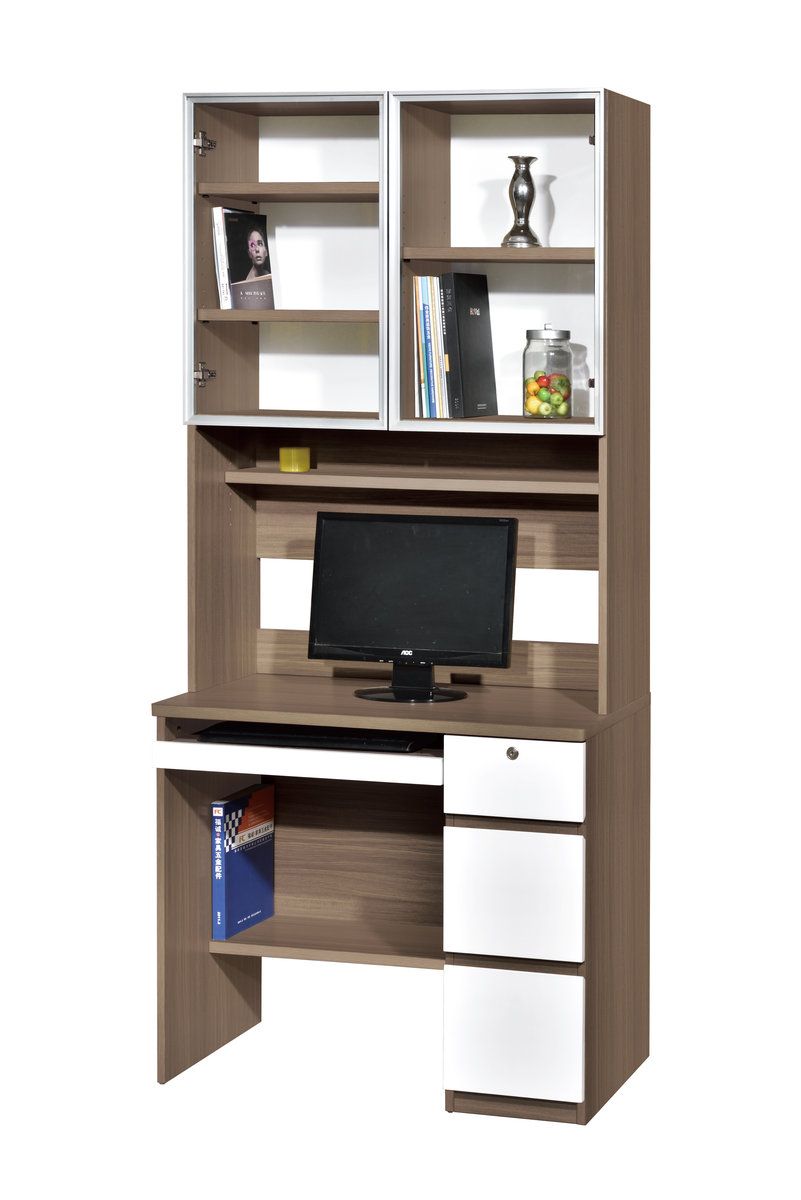 ALPHA FURNITURE | 128 236 Computer Study Desk (Tempered Glass Doors) |  HKTVmall Online Shopping