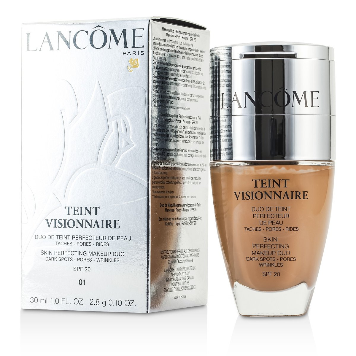 Lancome | Teint Visionnaire Skin Perfecting Make Up Duo SPF
