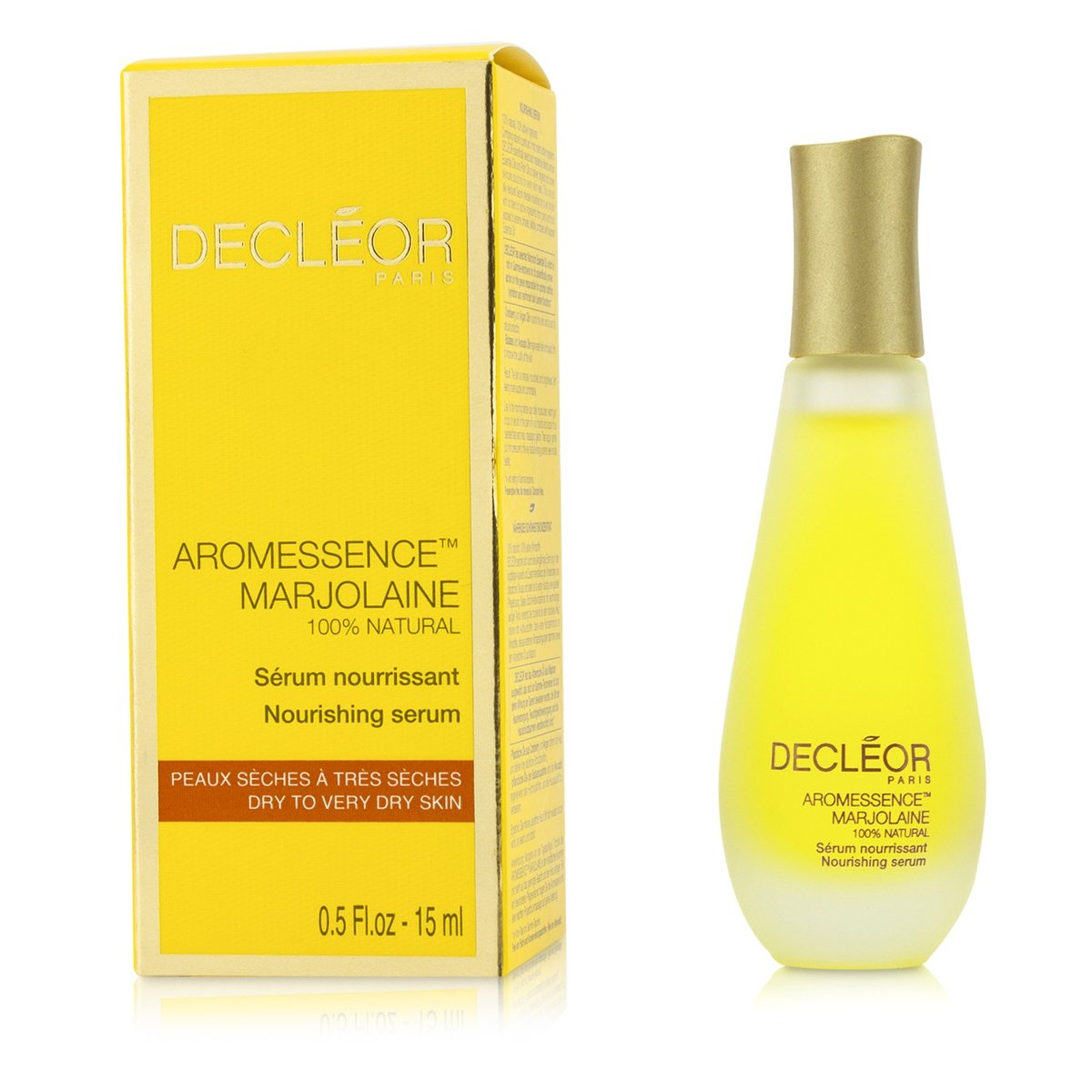 Decleor - Aromessence Marjolaine Nourishing Serum (Dry to Very Dry Skin, Salon Size) -50ml/1.69oz Jason Super-c Cleanser - 6 Fl Oz