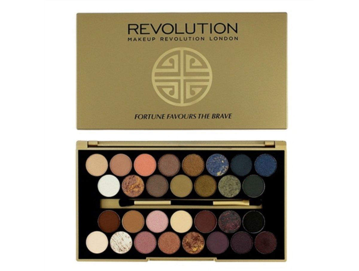 Makeup Revolution Eyeshadow Platte Fortune Favours The Brave