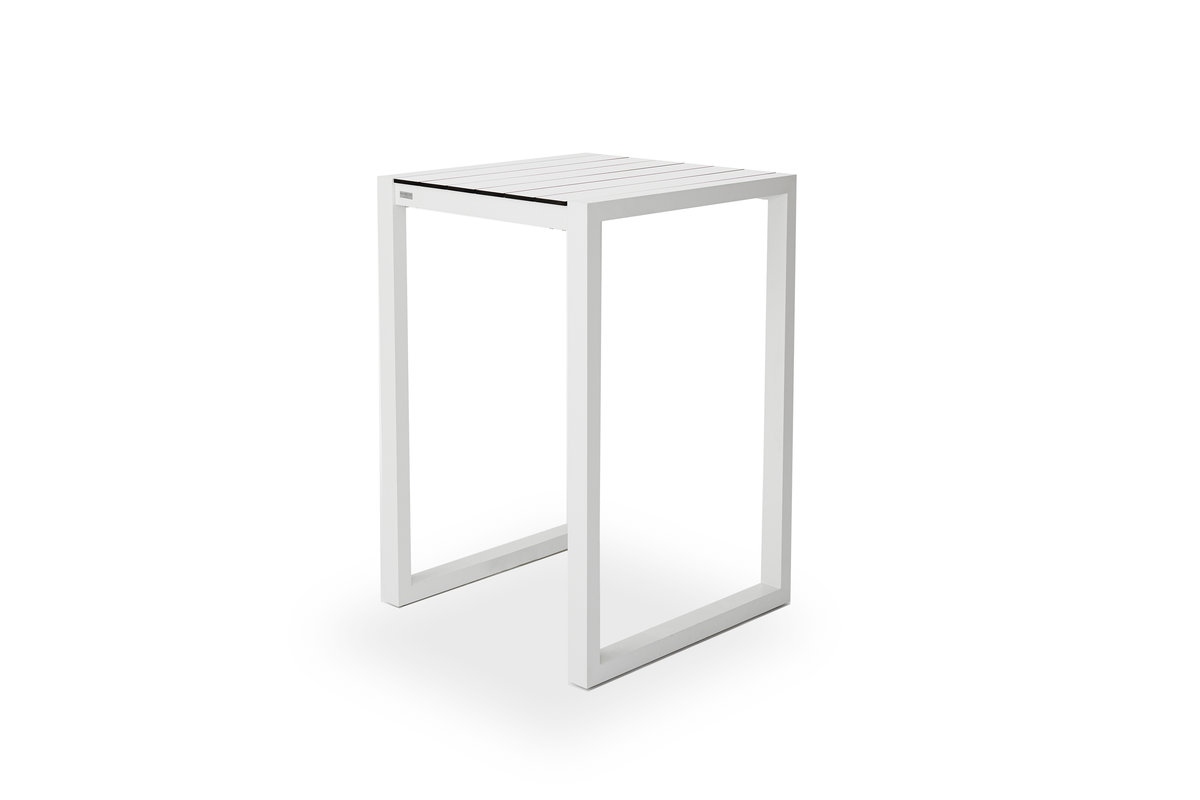 HARBOUR | PIANO Bar Stool Backless - White | Color : White