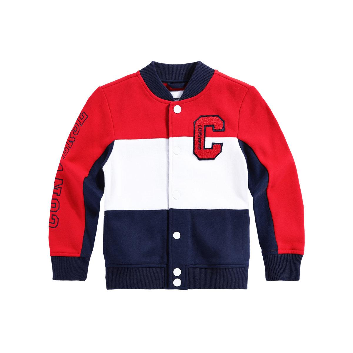 20dd623b0 ROOKIE | CONVERSE Classic Knit Varsity Jacket | Color : Midnight ...