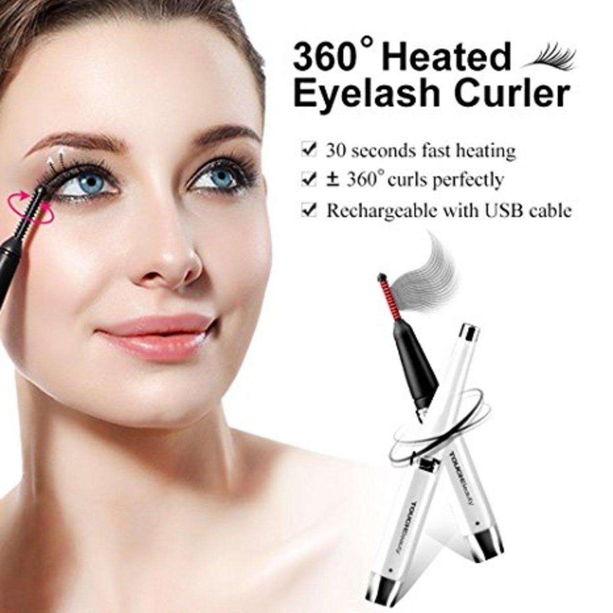 Touchbeauty Rotating Heated Eyelash Curler Tb 1218 Hktvmall