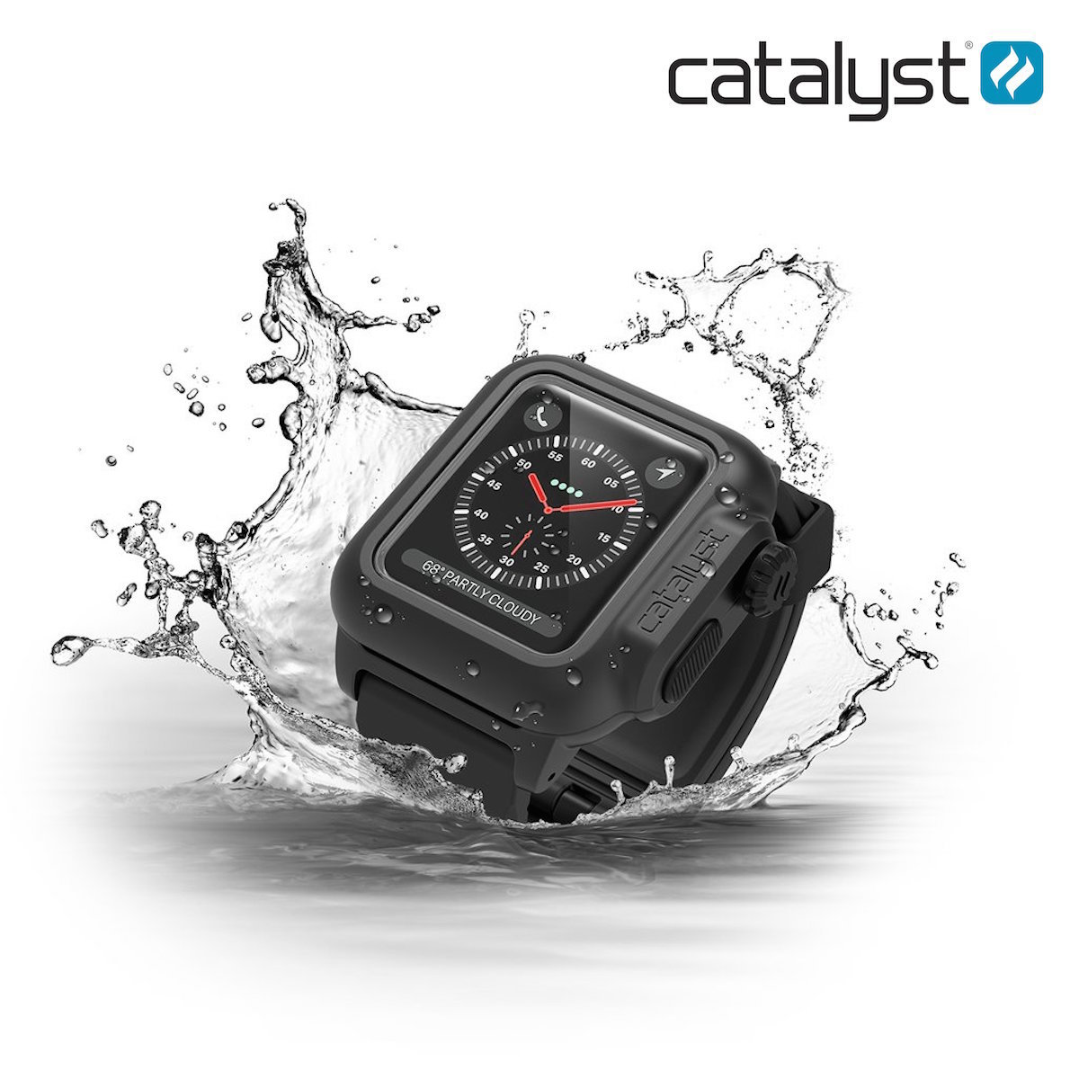 the latest c1c0a 3833f Catalyst | Apple Watch Series 3/2 38mm Waterproof Case BLACK ...