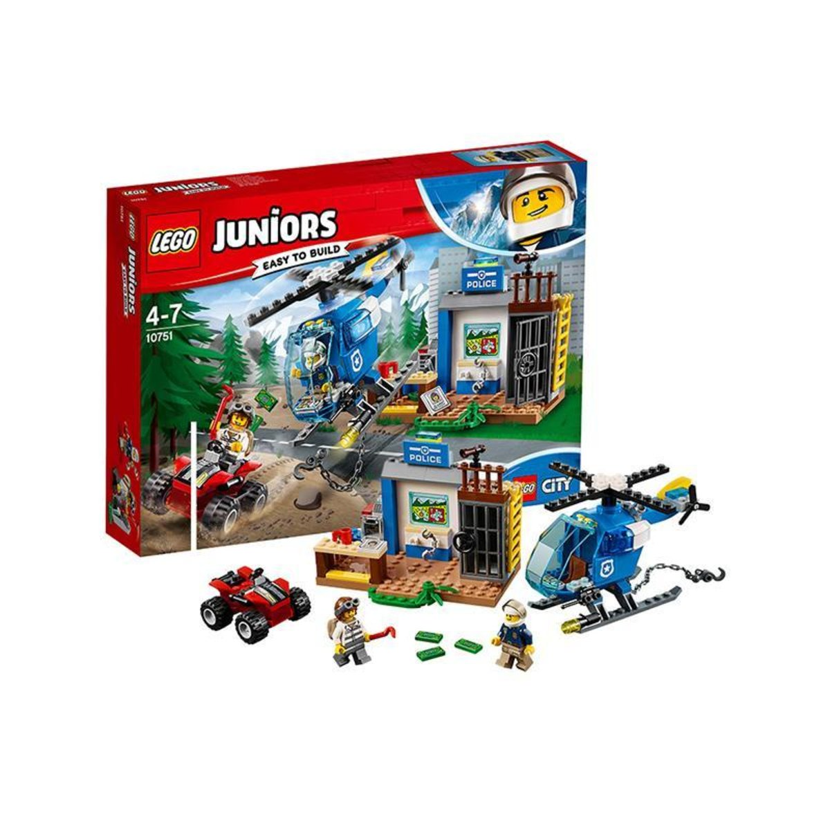 10751 JUNIORS MOUNTAIN POLICE CHASE