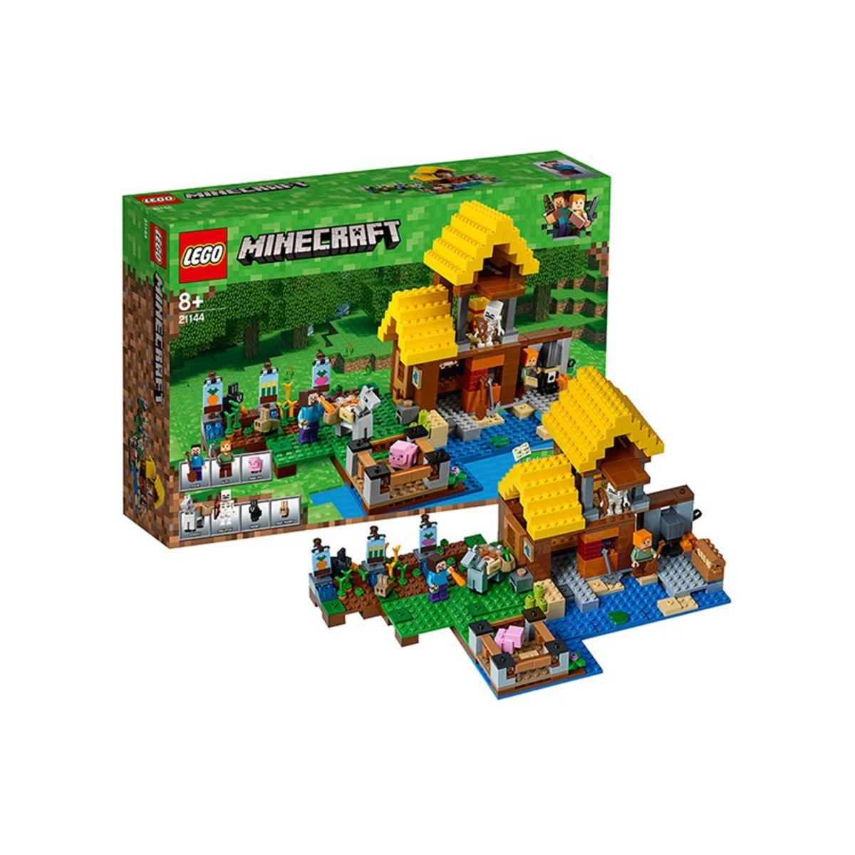 57778bdfd882 Lego | 21144 MINERCRAFT THE FARM COTTAGE | HKTVmall Online Shopping
