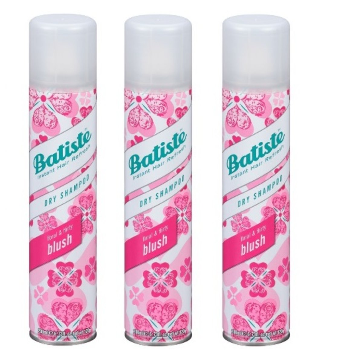 Batiste Shampoo 200ml Blush X 3 5010724527375 Hktvmall Dry 200 Ml