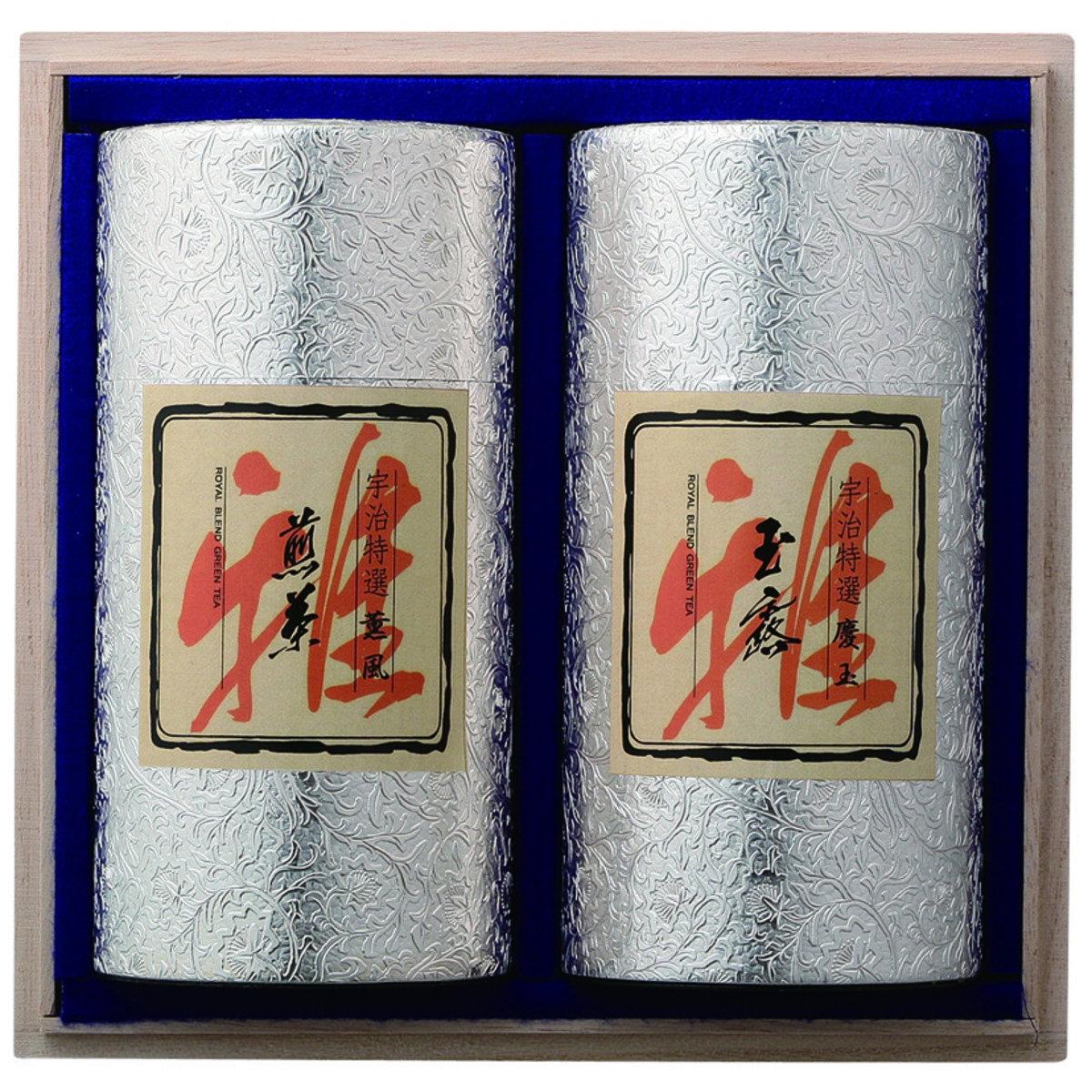 京都井六園 宇治銘茶套裝(2罐) TN-200