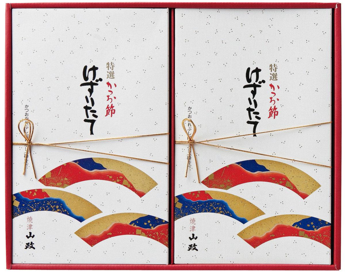靜岡山政 鰹魚乾套裝(2盒) LB-50S