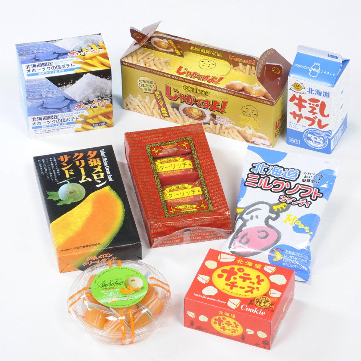 ALL北海道甜食零食套裝 C