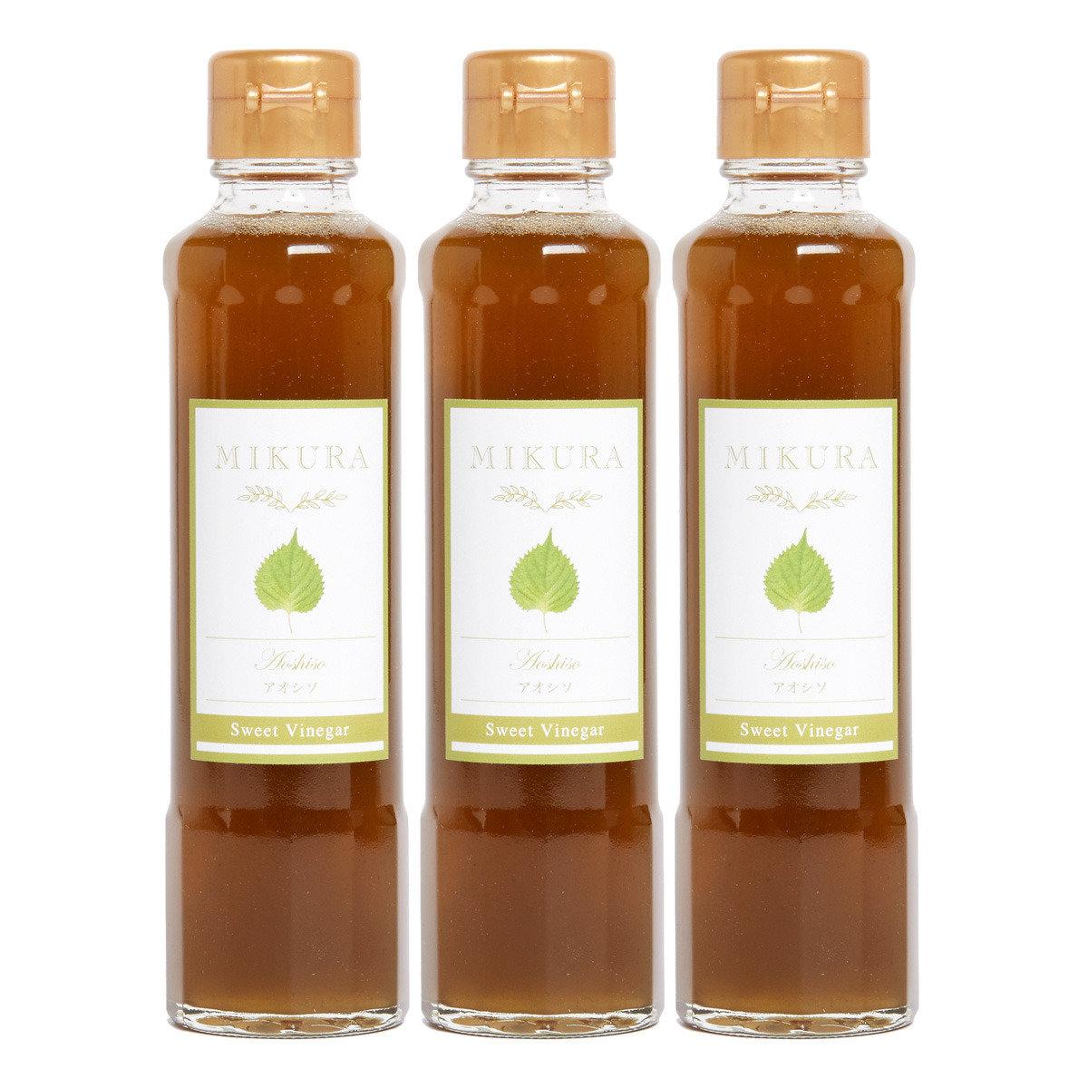Sweet Vinegar MIKURA 青紫蘇甜醋 (250克 x 3)