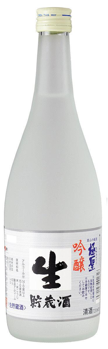 極聖 吟醸生貯蔵酒 (720毫升/2支裝)