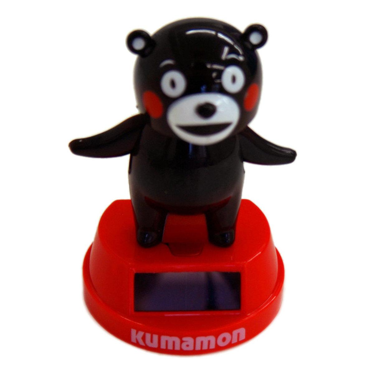 Kumamon太陽能公仔(搖頭+擺手)