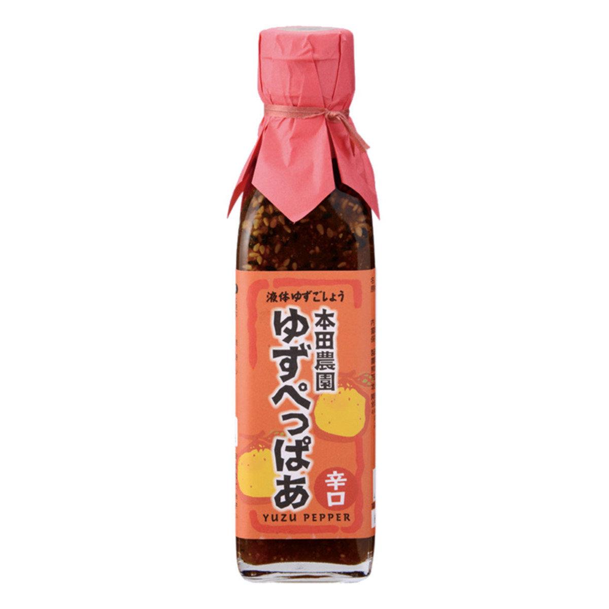 柚子胡椒醬 (辛口/200毫升)