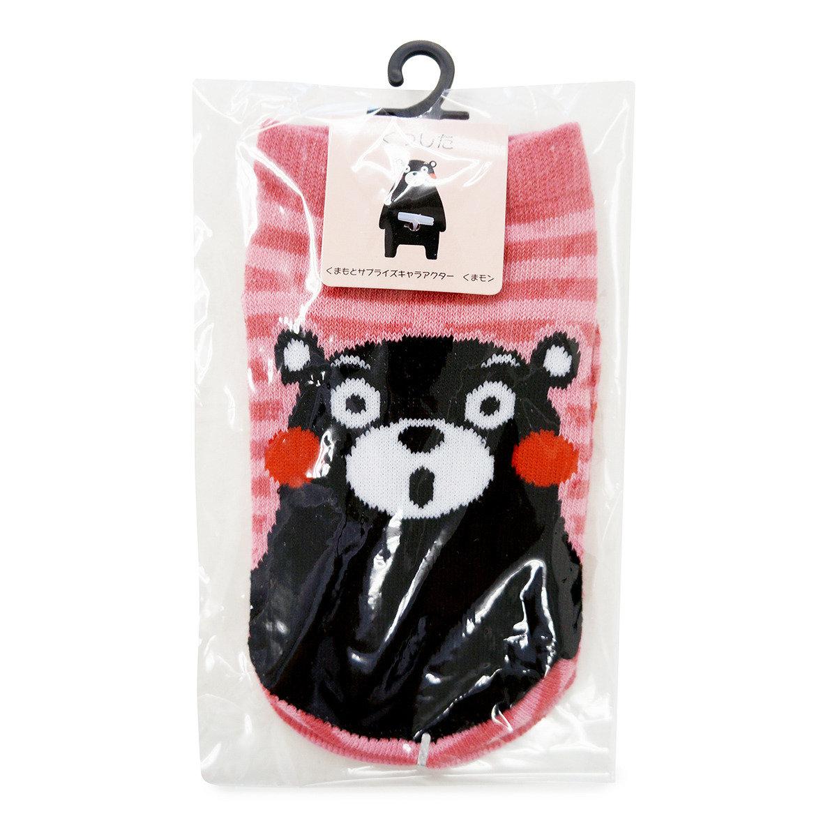 KUMAMON 小孩襪子 (粉紅)